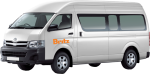 Side profile of the Britz 2 Berth Action Pod Campervan