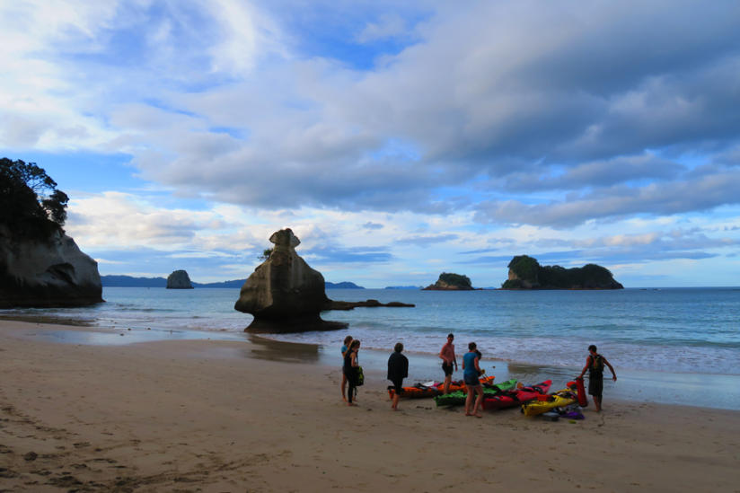 DAY 1: CATHEDRAL COVE TO HOT WATER BEACH