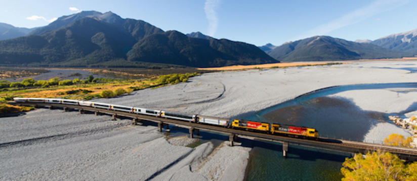 Ride the Tranzalpine Train