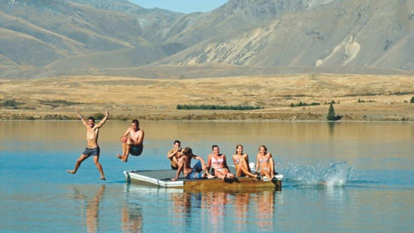 Lake Tekapo Pontoon Swimming