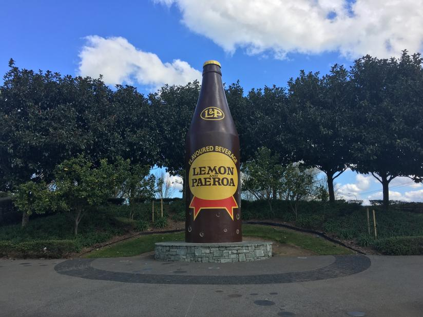 Lemon and Paeroa Bottle