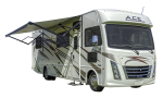 Side profile of the Roadbear Class A 30-32' RV