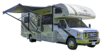 Side profile of the Roadbear Class C 28-30' RV