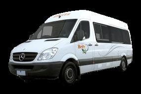 Side profile photo of the Britz 2 Berth Venturer Campervan