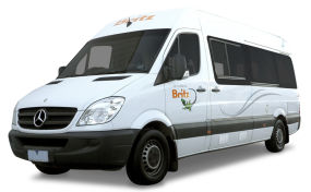 Side profile photo of the Britz 2+1 Berth Venturer Plus Campervan