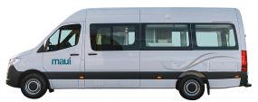 Side profile photo of the Maui 2+1 Berth Ultima Plus Campervan
