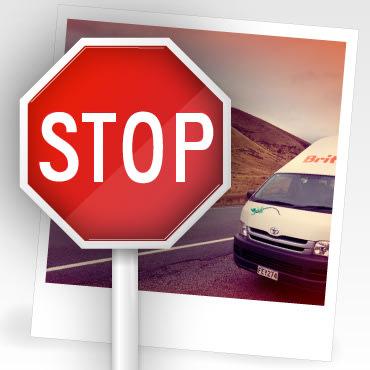 Britz Stop Sign