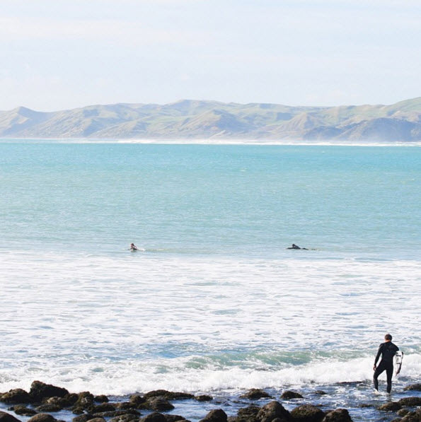 raglan surf new zealand