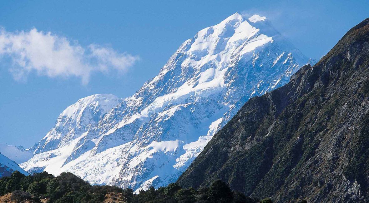 Mount Cook Snowy
