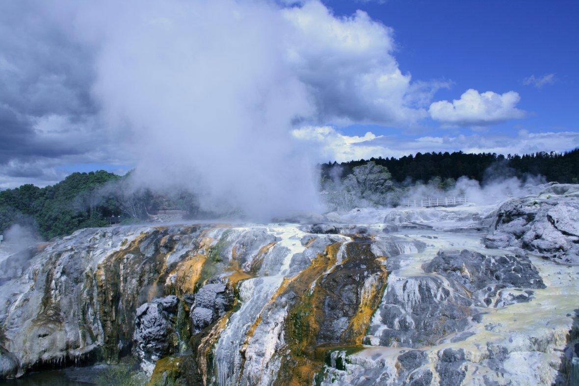 Geothermals in Rotorua