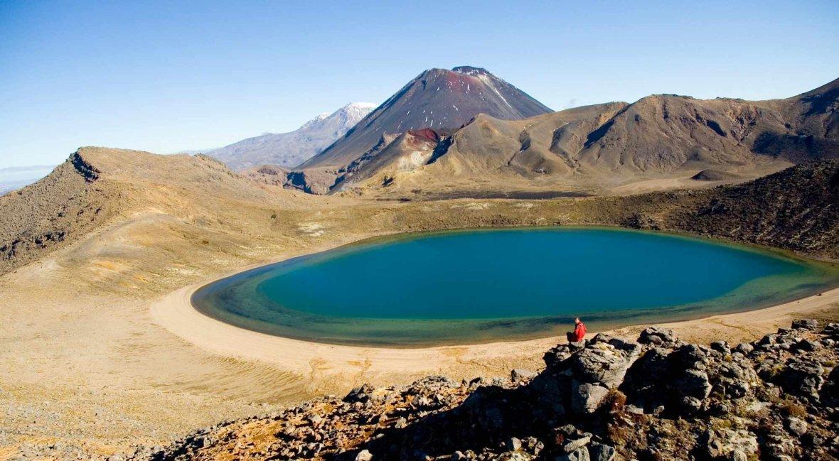 Lake Taupo Blue Lakes Tongariro Crossing