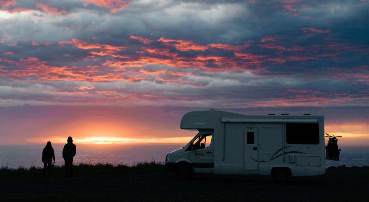 britz-campervan-sunset
