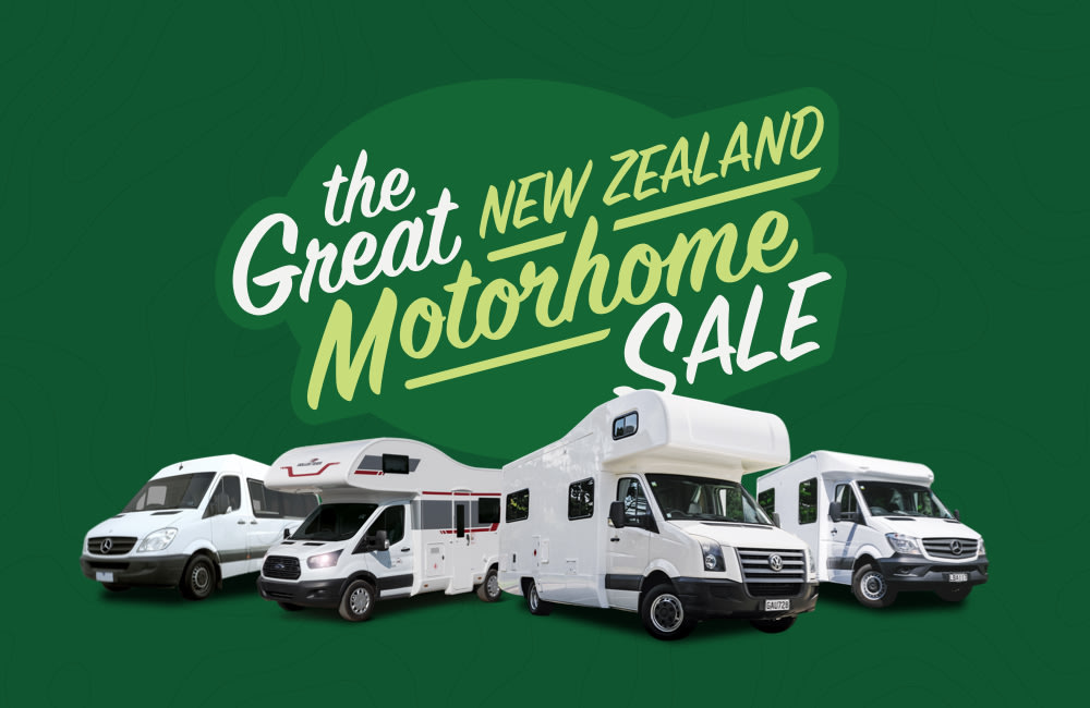 great new zealand motorhome sale