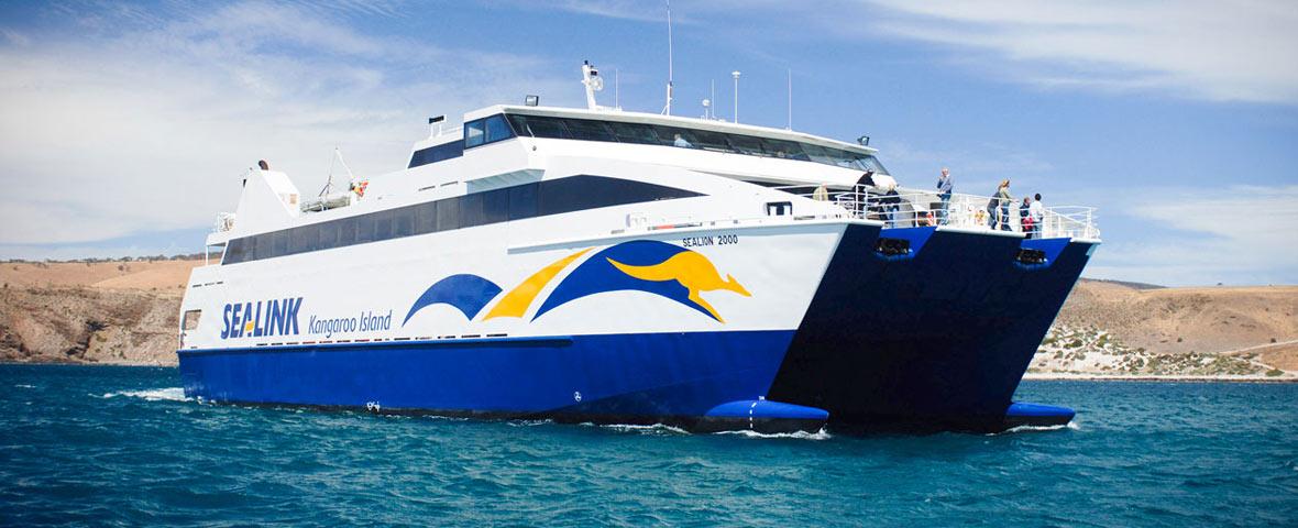 Au Ferry to Kangaroo Island Sealink