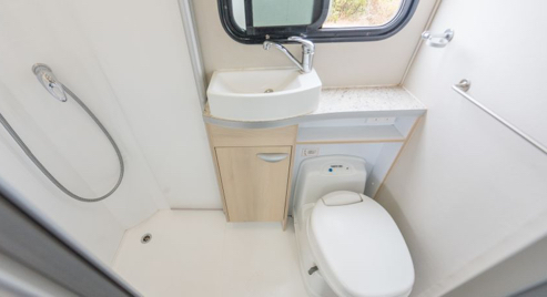 bathroom toilet, shower