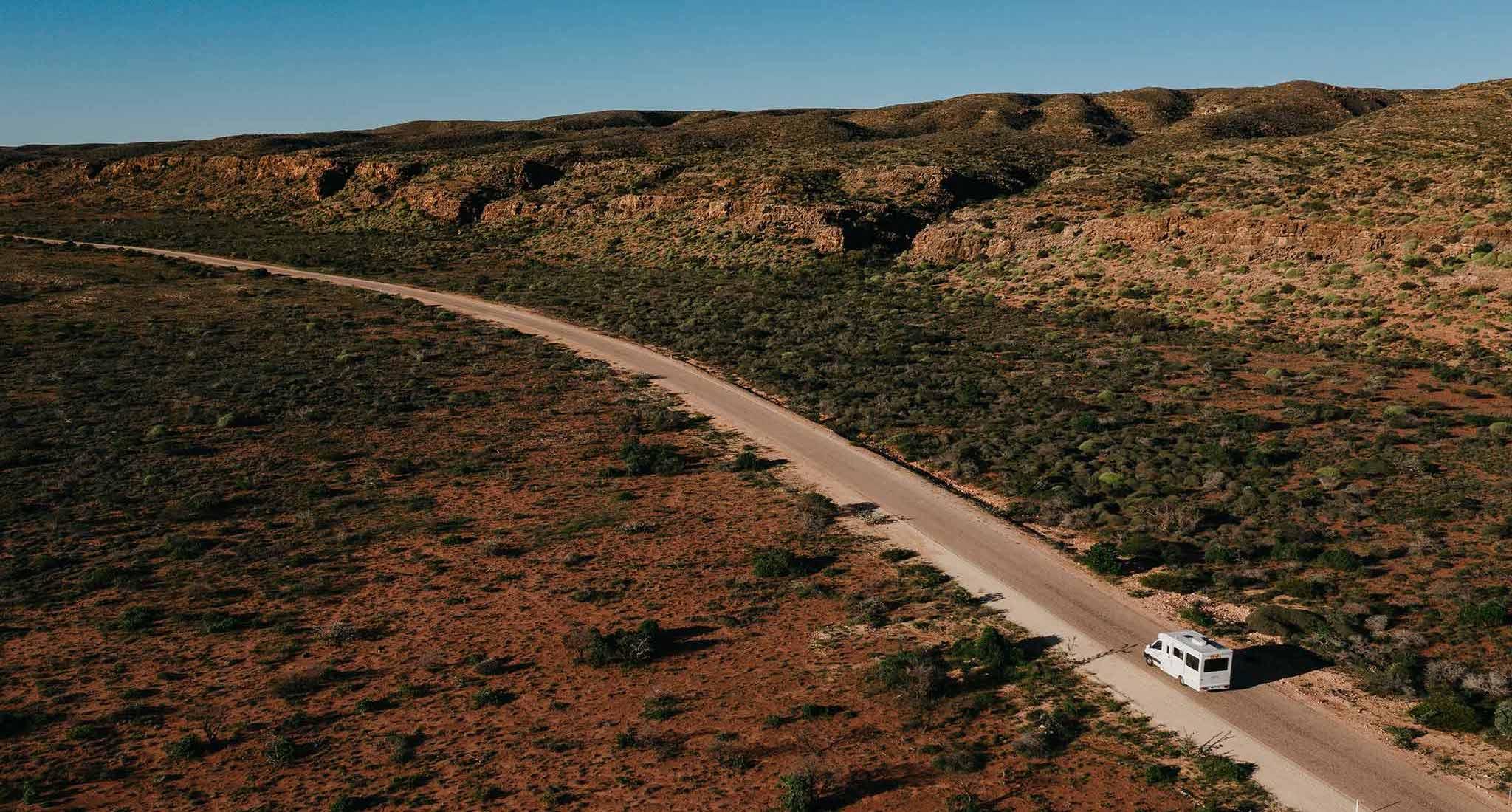 Western Australia in a Britz Campervan