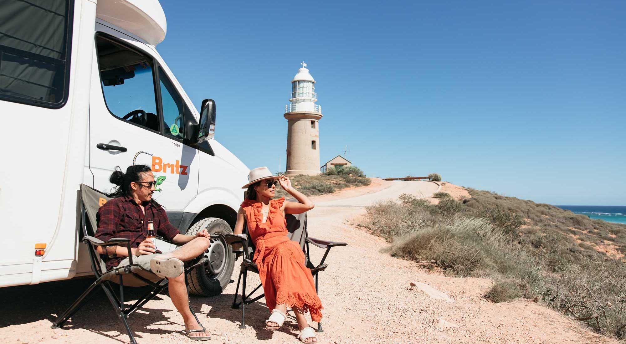 exmouth campervan birtz australia