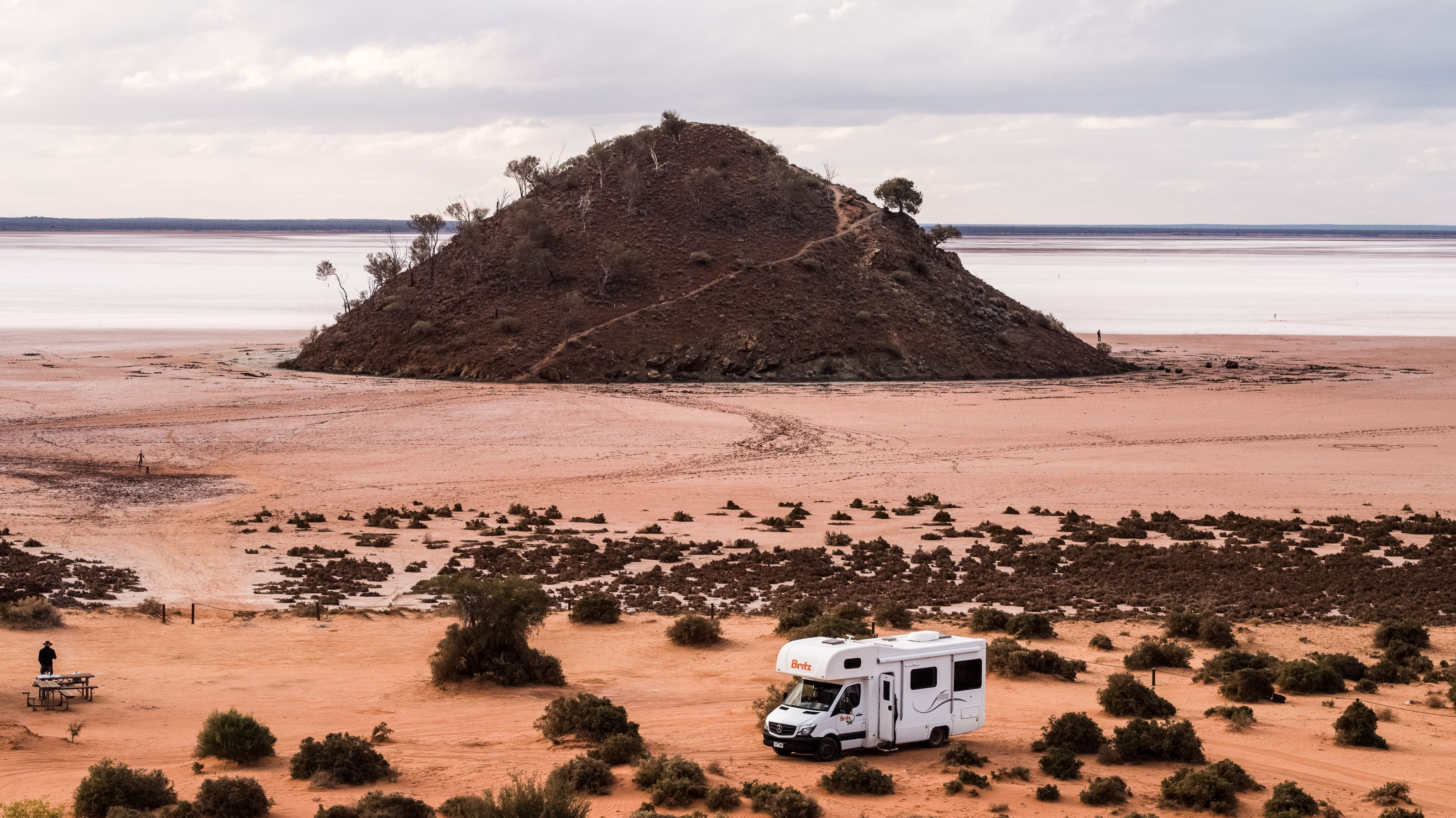 Lake Ballard, WA - Britz Campervans