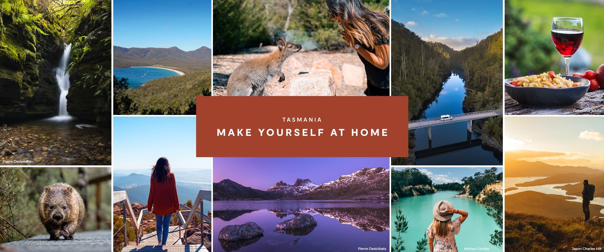 tasmania make yourself at home