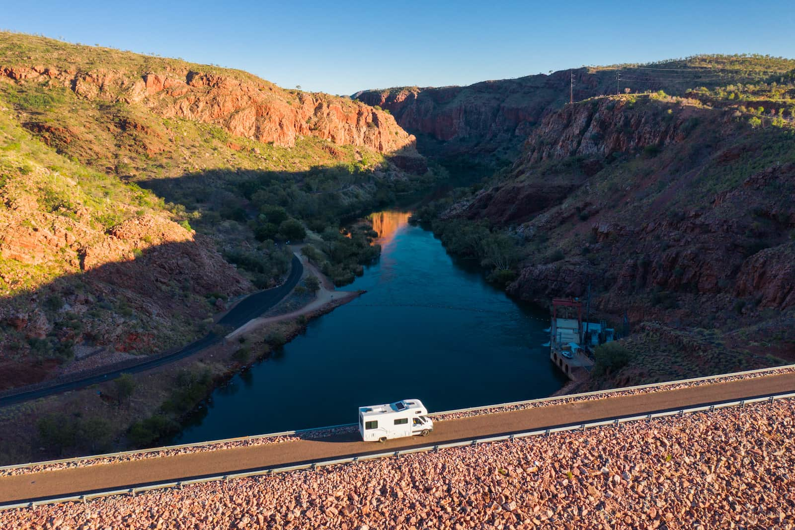 Britz Campervans Lake Argyle Bridge