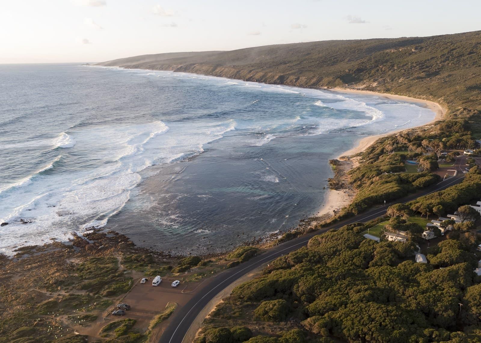 britz campervans hitop yallingup western australia