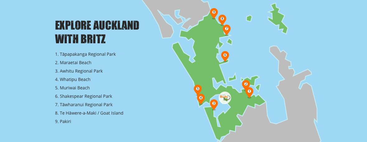 auckland campsites