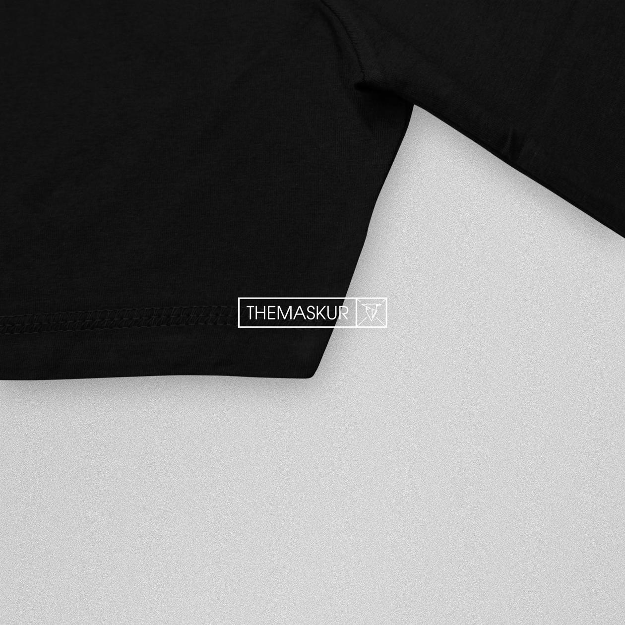 Kaos Polos Ssp Black Misty Beranda Belanja Dewasa Ss Short Sleeve
