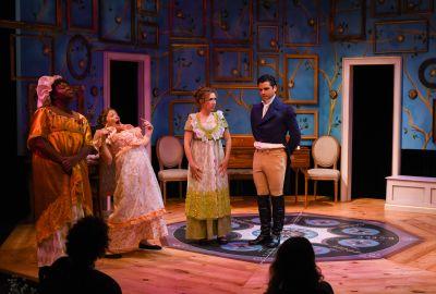 Pride & Prejudice at the Warehouse Theatre