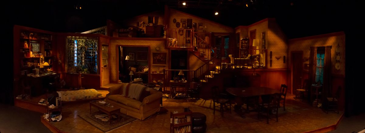 The set of August: Osage County