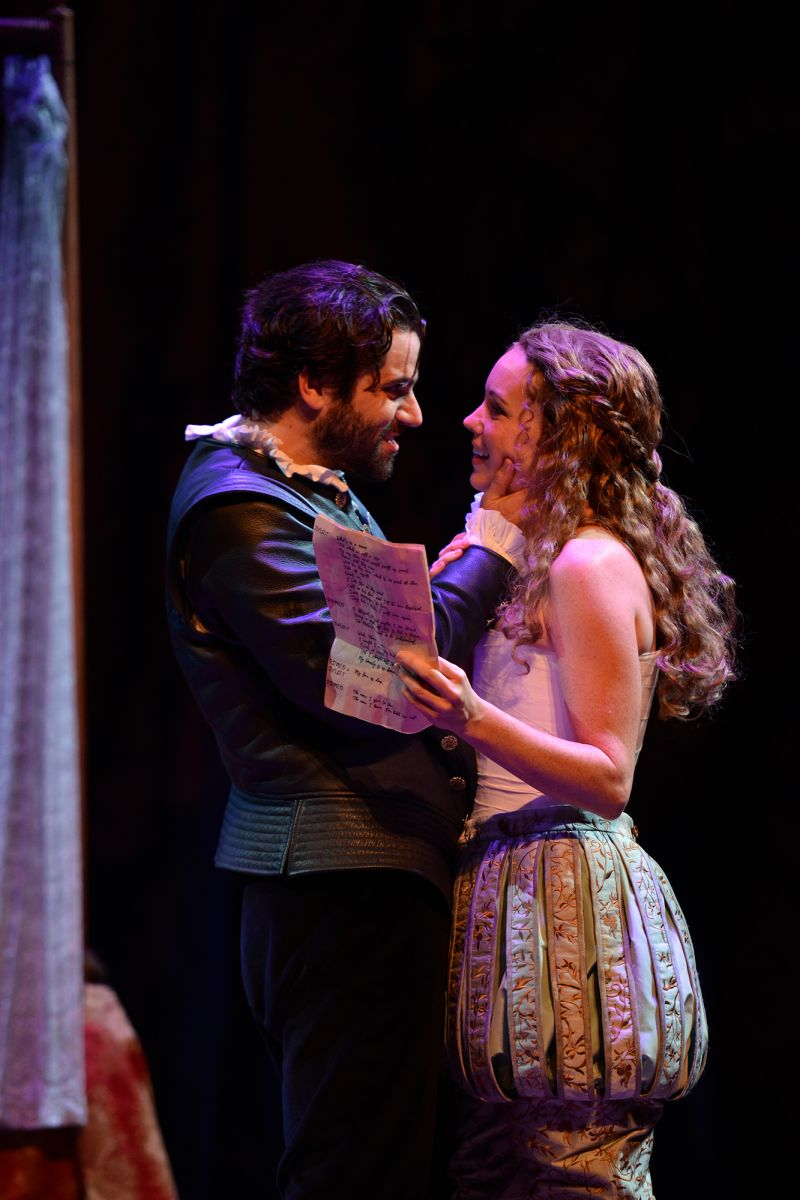 Thomas Azar as Will and Bethany Anne Lind as Viola.