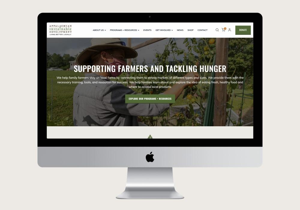 Appalachian Sustainable Development Homepage