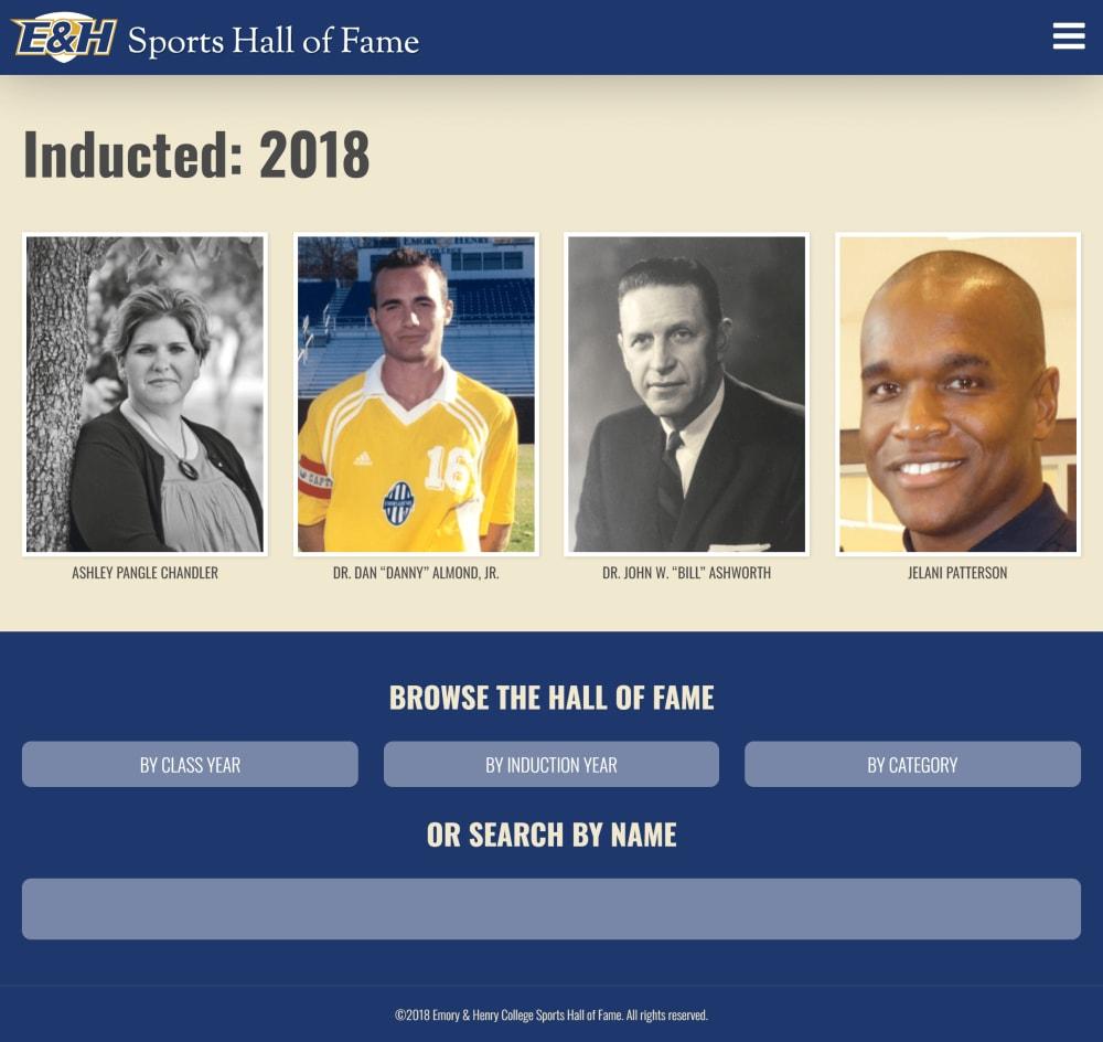 EHC Hall of Fame