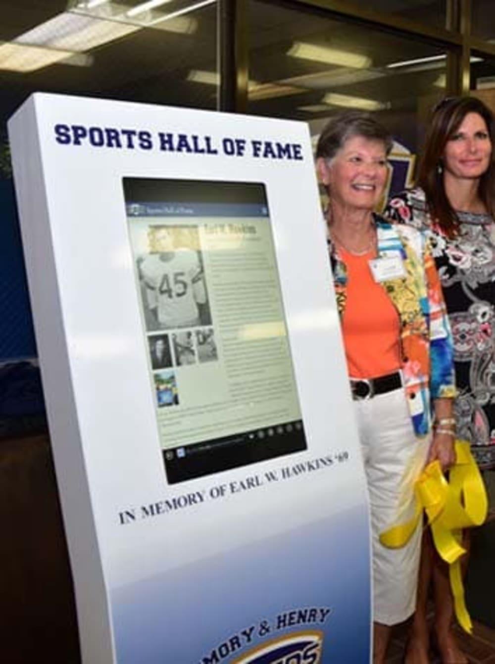 EHC Hall of Fame Kiosk
