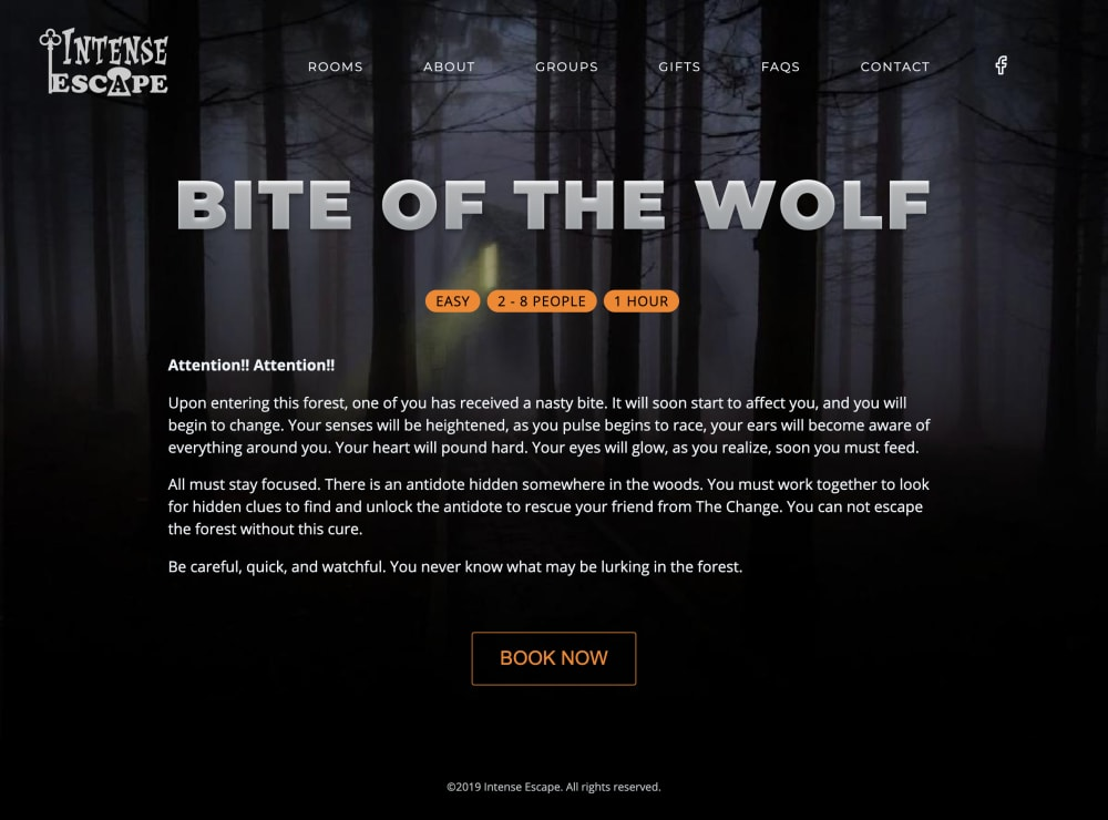 Bite of the Wolf Escape Room