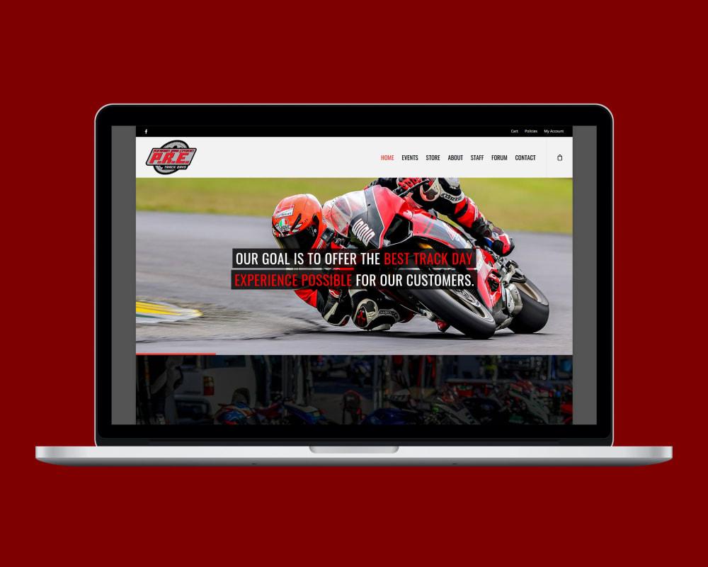 Ride P.R.E. homepage