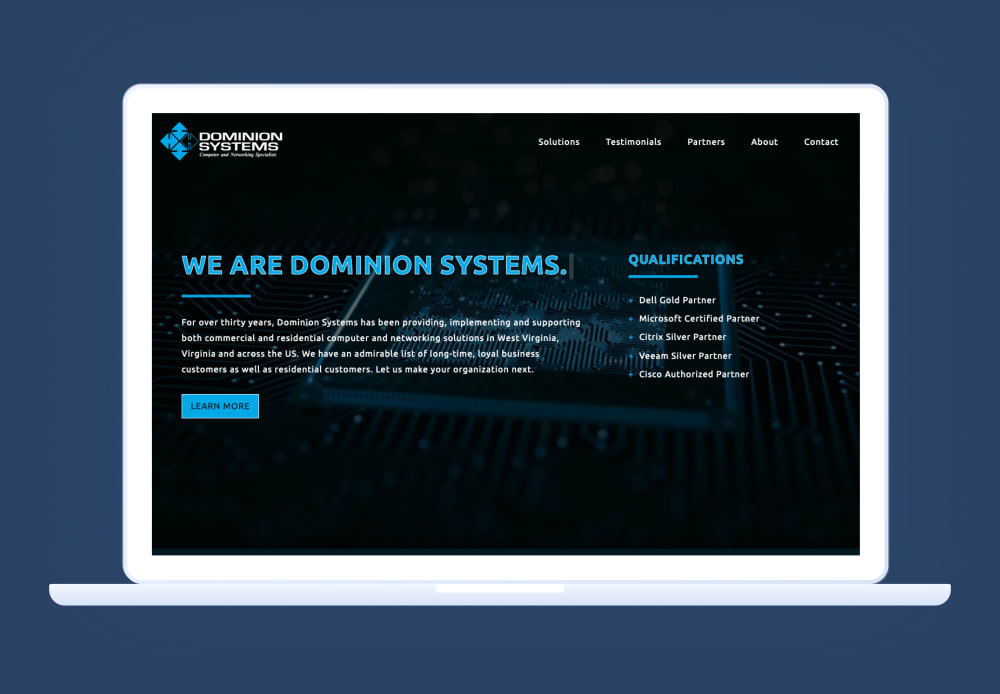 Dominion Systems Website