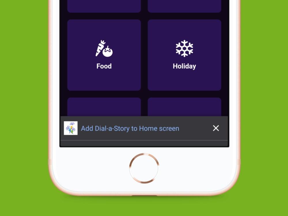 Screenshot - PWA Install to Home Screen