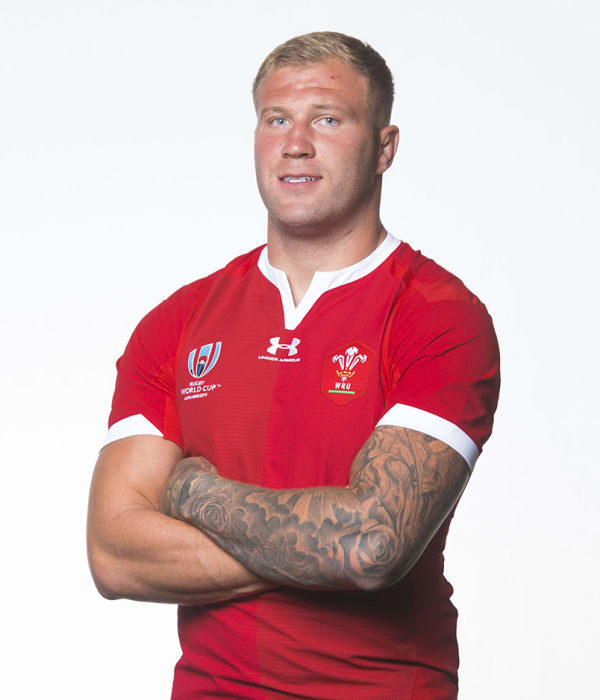 Ross Moriarty Wales RWC