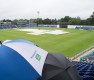 Glamorgan are 68/2 when rain ends play