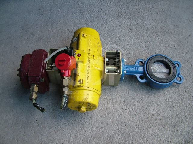 Actuated Butterfly Valve main image