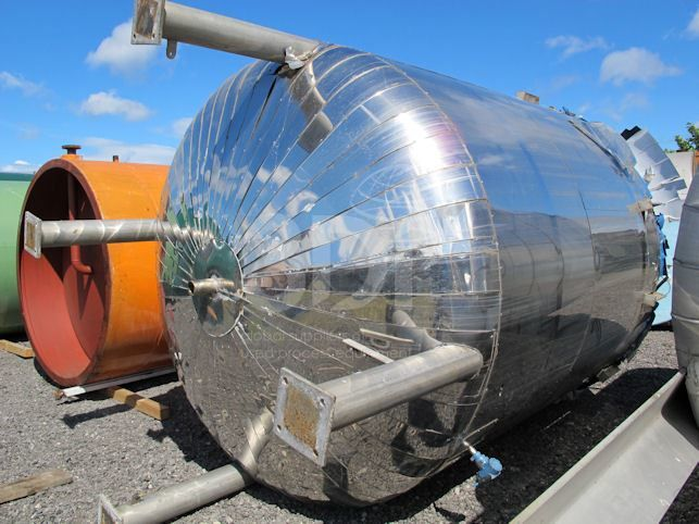 15,000 Litre Stainless Steel Pressure Vessel
