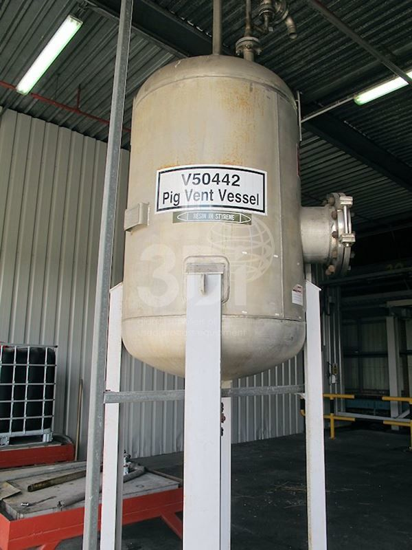 1,280 Litre Stainless Pressure Vessel