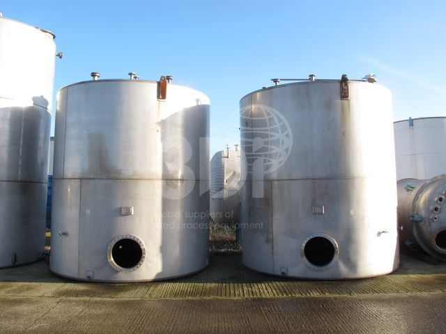 45,000 Litre Stainless Steel Storage Tanks