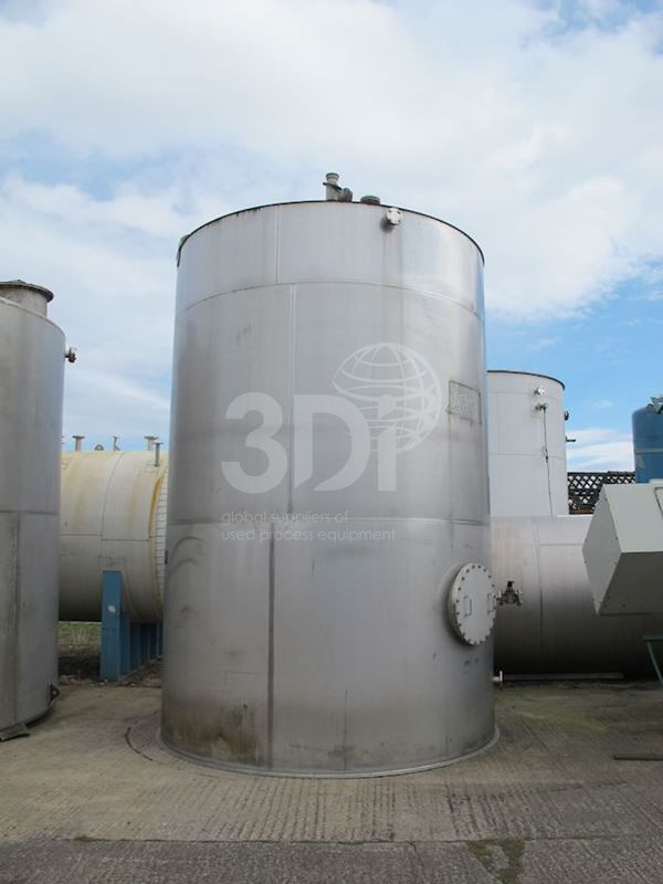 40,000 Litre Stainless Storage Tank