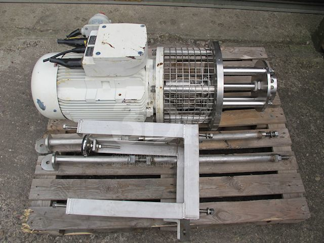 Side Entry High Shear Mixer