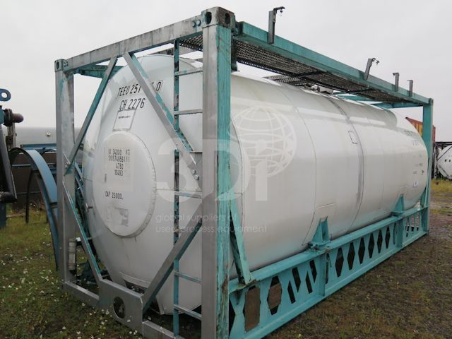 25,000 Litre ISO Tank Container