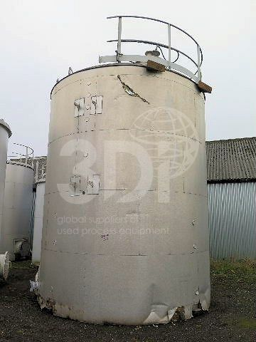 60,000 Litre Stainless Steel Storage Tank