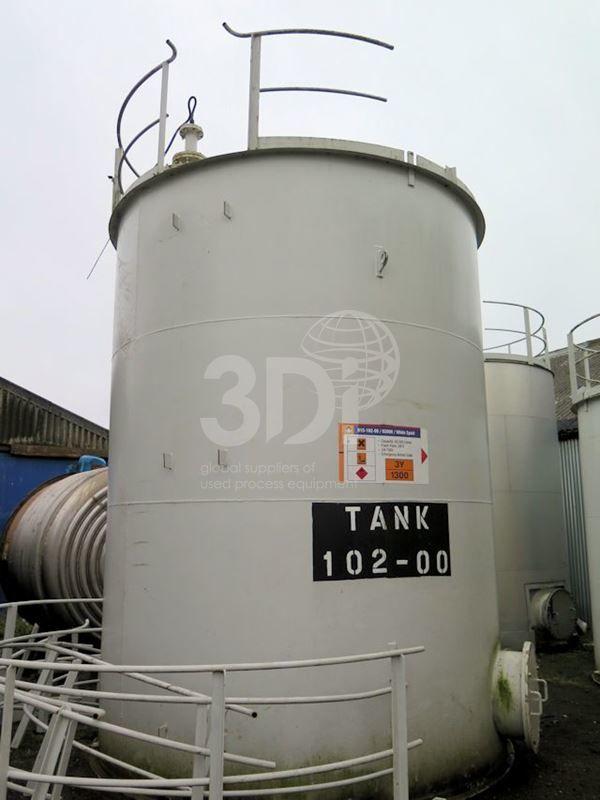 40,000 Litre Mild Steel Storage Tank