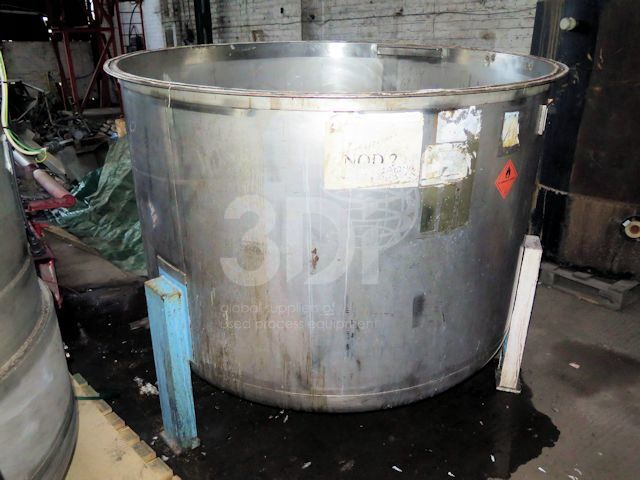 3,000 Litre Stainless Steel Storage Tank