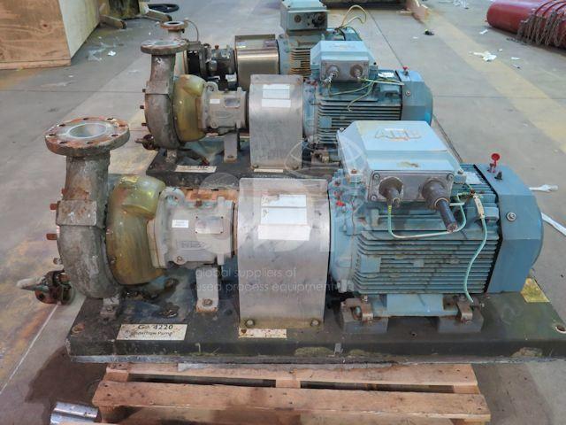 Durco Centrifugal Pump MK3 2K6x4-10